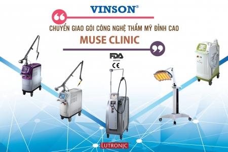 Chuyển giao series công nghệ thẩm mỹ đỉnh cao từ Lutronic–Hoa Kỳ đến Muse Clinic–TP.HCM