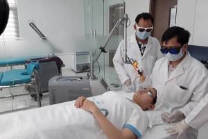 Chuyển giao công nghệ laser đến Linh Thiện Dental And Beauty Care