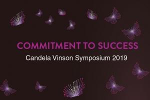CANDELA VINSON SYMPOSIUM - COMMITMENT TO SUCCESS 2019