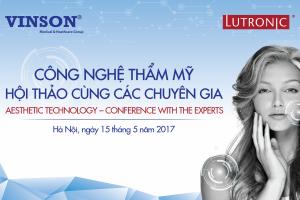 Vinson Workshop: Công nghệ thẩm mỹ - Hội thảo cùng các chuyên gia