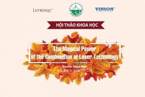 Lutronic & Vinson Symposium Autumn 2018: Hội thảo khoa học cập nhật về Laser thẩm mỹ