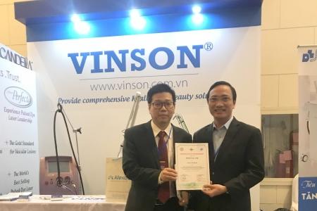 Công ty VINSON tại Hội nghị Da liễu Đông dương mở rộng và Hội nghị Da liễu cấp cao thế giới